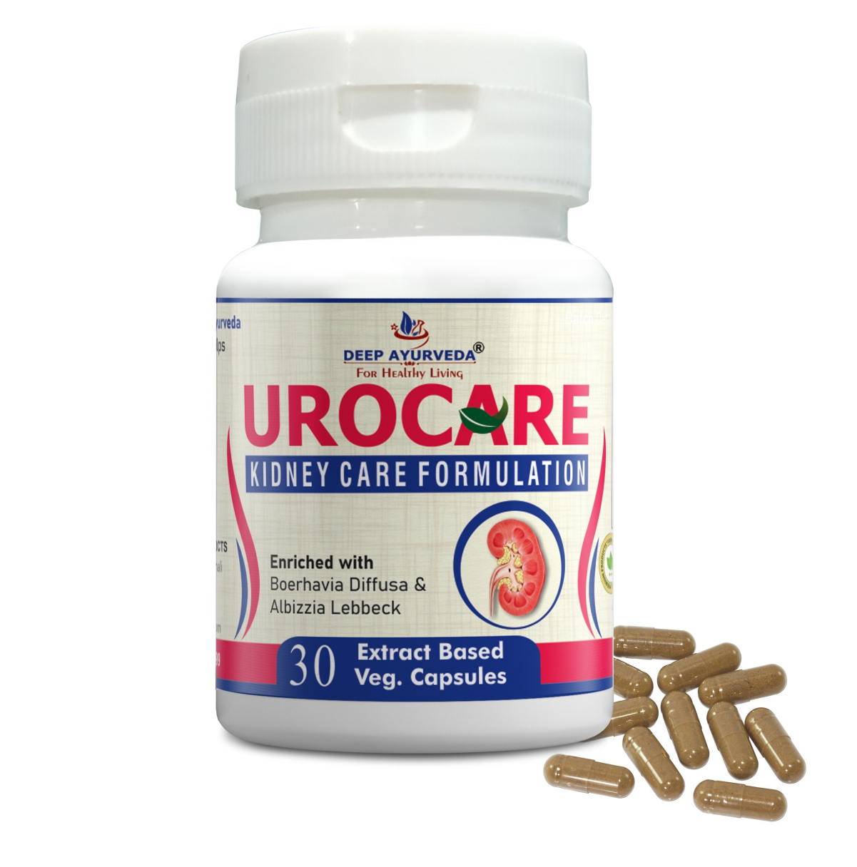 Urocare Herbal Capsule Complete Kidney Care Formula